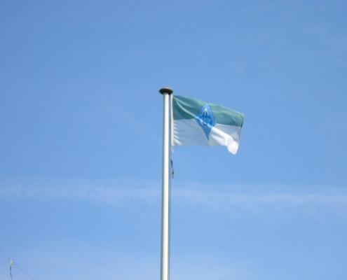 Onze (te kleine) VERON-vlag