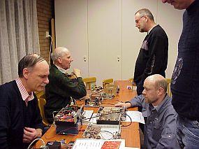 PAøRWE en PB2BN achter de tafel