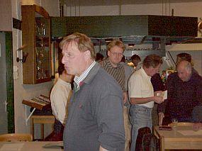 PA4KCO, met op de achtergrond penningmeester PA1TO