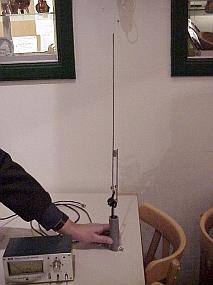 PA3BFK's 70 cm J-antenne