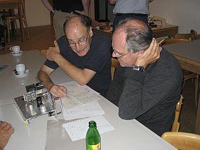 Simon PAøMYD (L) en Hans PA1JF (R)