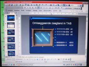 Heldere PowerPoint presentatie