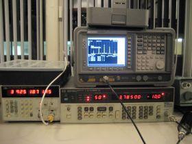 De meetapparatuur van Frans PE1COM