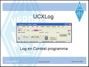 UCXLog - een uitstekend Log en Contest programma