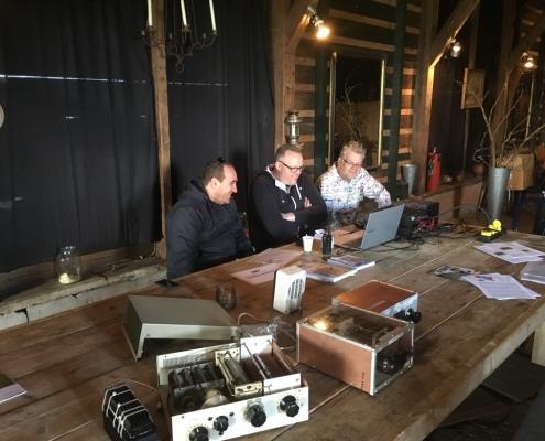 In verband met de ruimte de genieloods als onderkomen voor de open dag 2017.