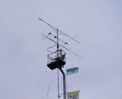 """Top van de """"mast"""""""
