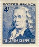 Claude Chappe 1763 - 1805