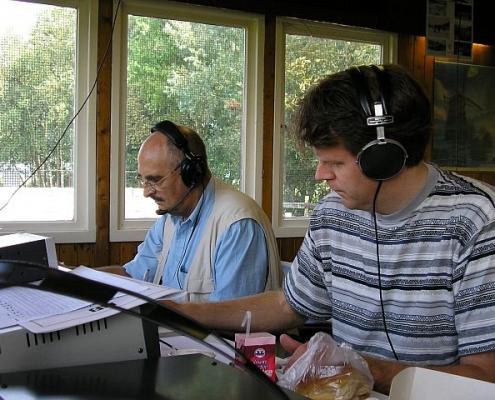 Wim PA3ALG (L) en Martin PA2W