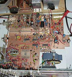 PAøKSB's experimenten met DDS en besturing door een PIC microcontroller.