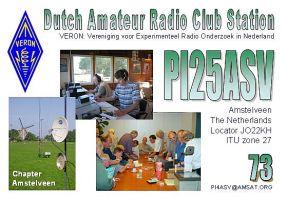 PI25ASV QSL-kaart