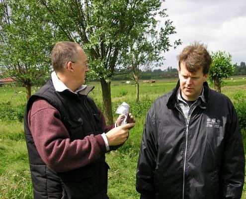 Paul PA2CW (L) & Martin PA2W